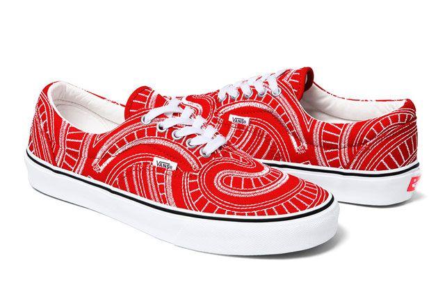 Vans Supreme Era Ss 2014 Red Perspective