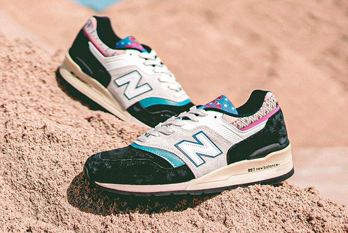 New Balance M997Pal M998Awk Black Pair