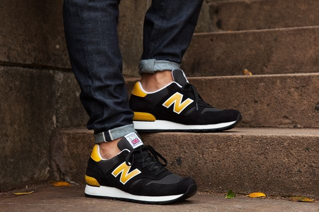 New Balance 670 Black Yellow Pack 7