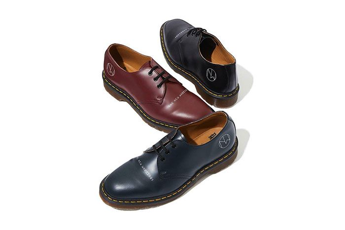Undercover Dr Martens New Warriors Collection Derbys Side Shot 3
