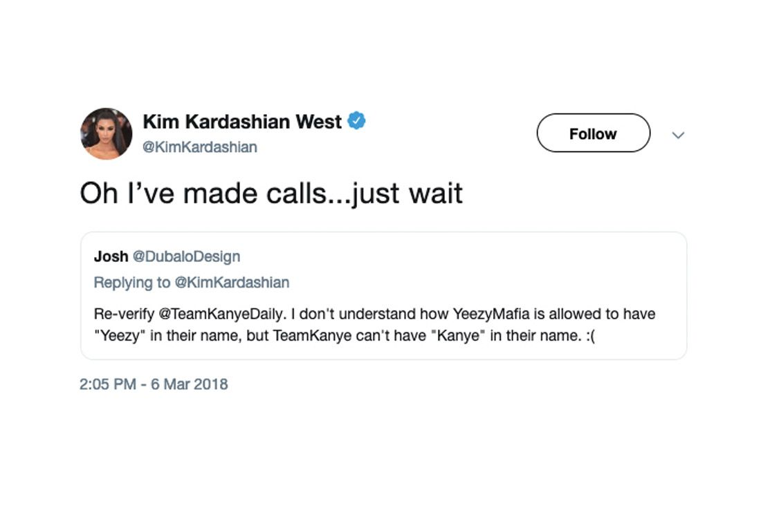 Yeezy Mafia Interview Kim K Tweet