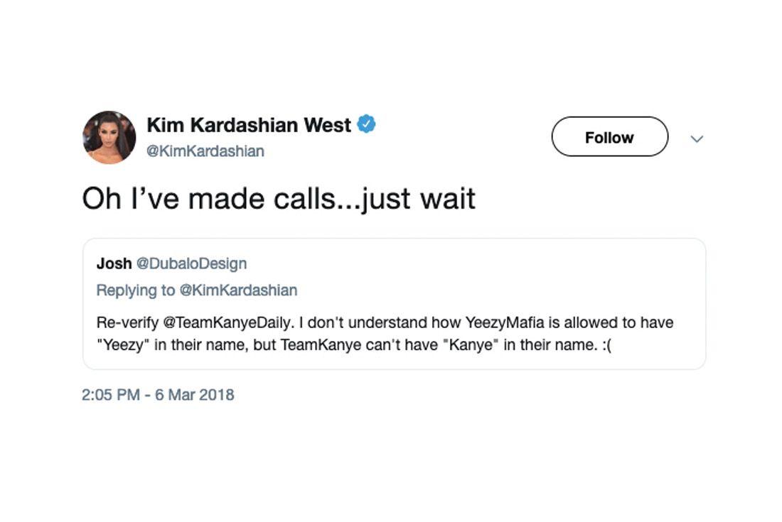 Yeezy Mafia Interview Kim K Tweet