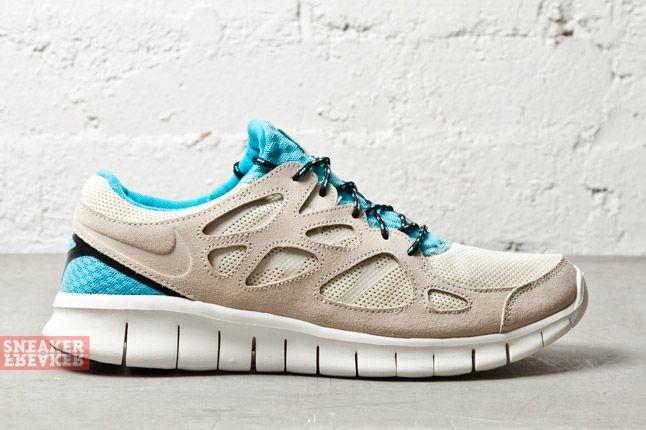 Nike Free Run 2 Beach Gamma Blue 3