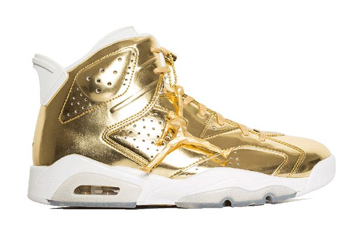 Air Jordan 6 Pinnacle Metallic Gold 4
