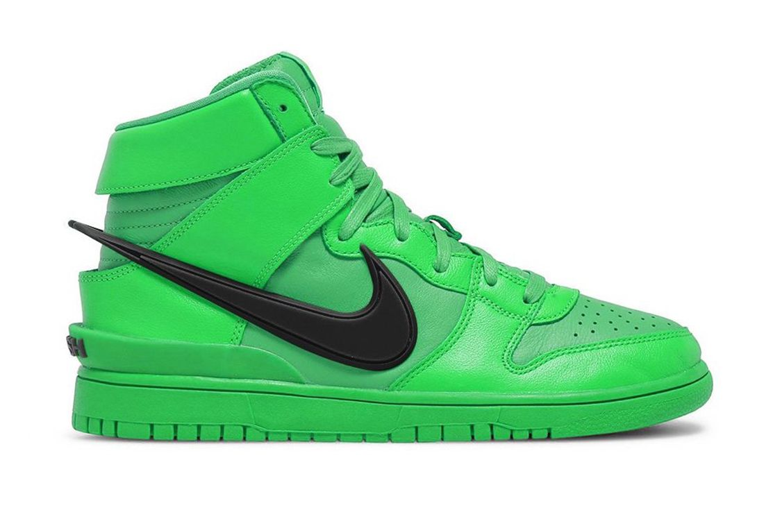 AMBUSH x Nike Dunk High 'Flash Lime' Info Leaked