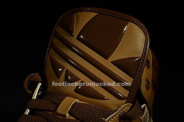 Adidas Top Court Camo Khaki Tongue 1