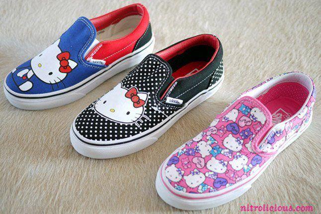 Hello Kitty Vans Summer 2012 01 1