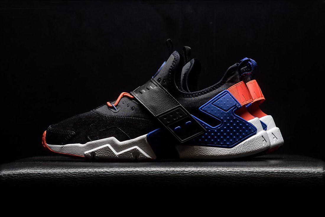 Nike Air Huarache Drift Premium Black Rush Violet Rush Orange Ah7335 002 Sneaker Freaker 11