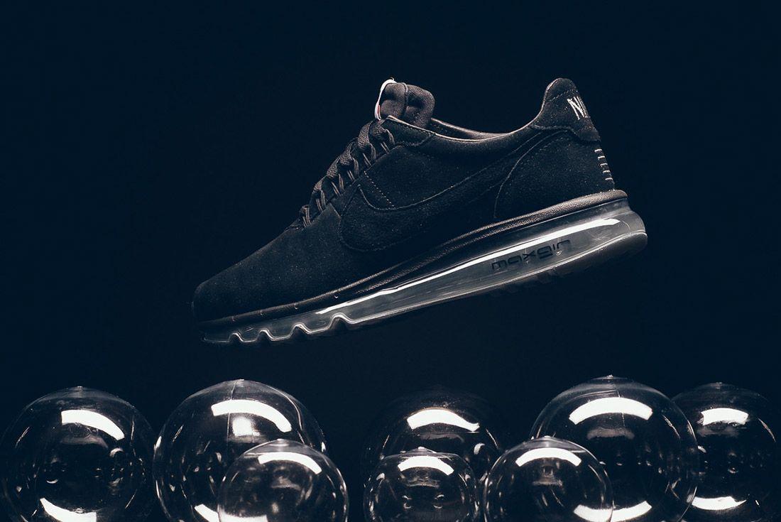 Nike Ld Zero Suede Navy Black 2