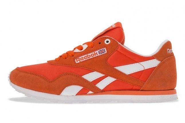 Reebok Classic Nylon Orange 1