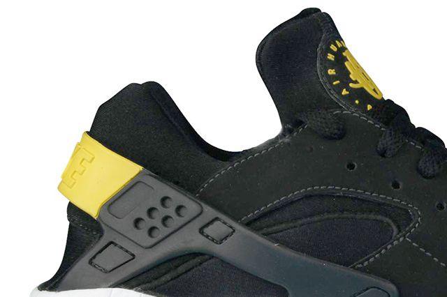 Nike Air Huarache Black Tour Yellow