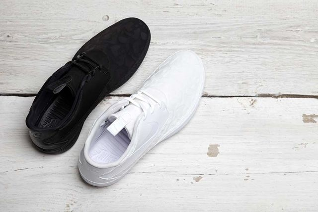Nike Solarsoft Moc Qs Black White Pack 4