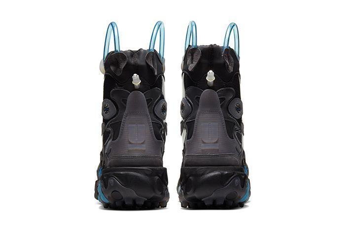 Undercover Nike React Boot Black Release Date Heel