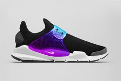 Nike Sock Dart Black Grape Thumb