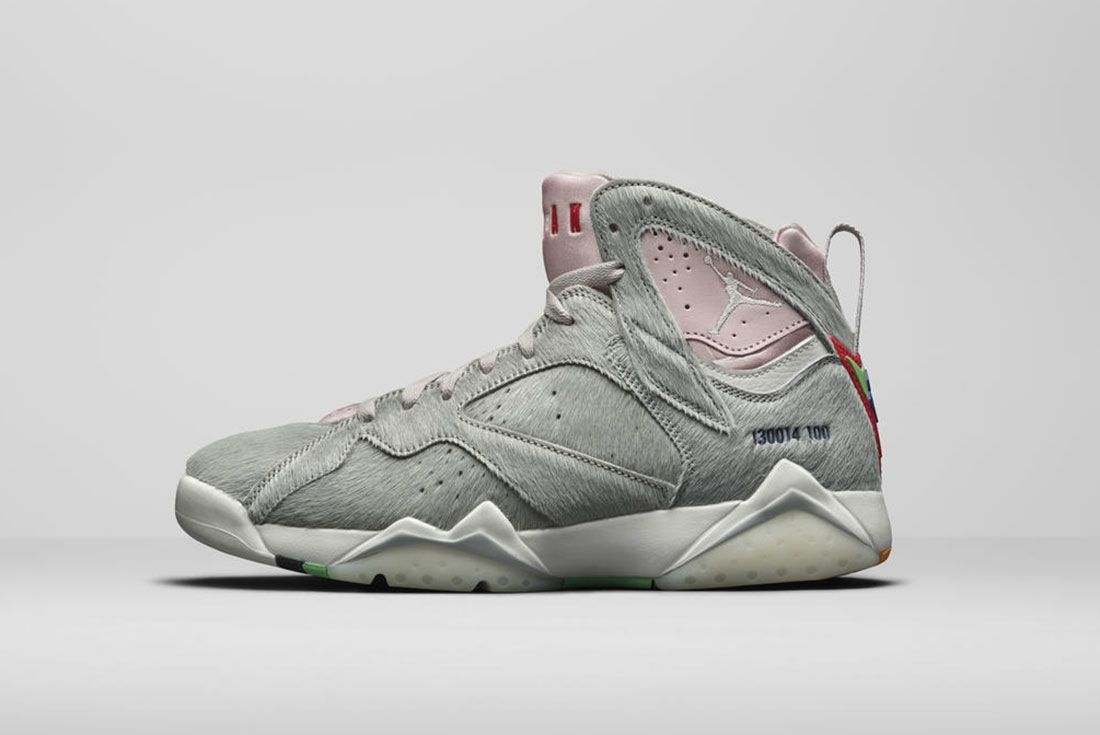 Jordan Brand Summer 2020 Air Jordan 7 Hare 2 Lateral