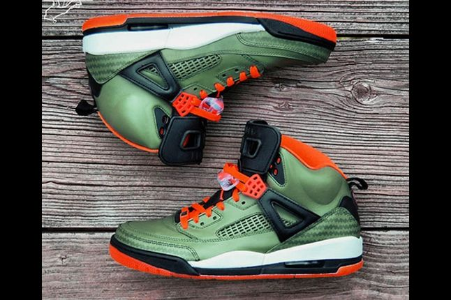 Jordan Spizike Customs Gourmetkickz 5 1