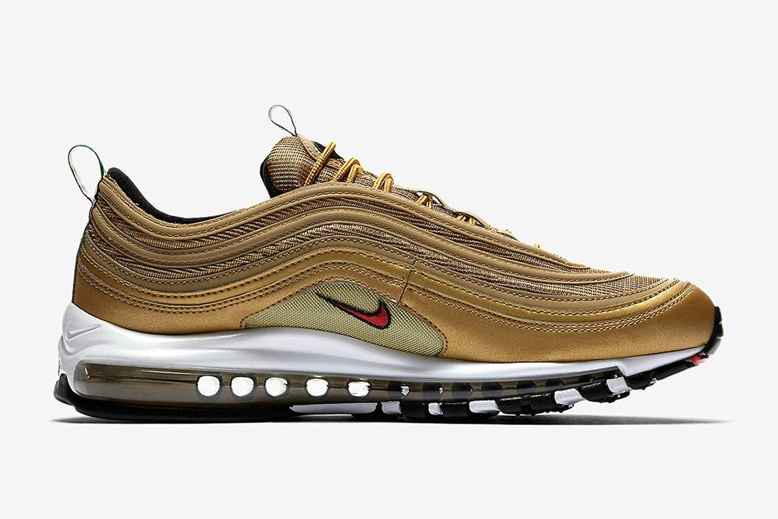 Nike Air Max 97 Metallic Gold Italy Sneaker Freaker 4