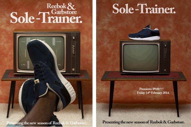 Reebok Garb Store Sole Trainer Ads