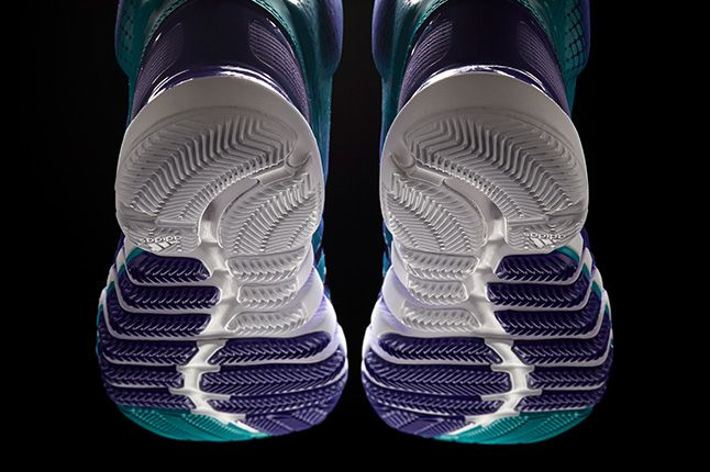 Adidas Crazyquick Teal Purple Soles 1