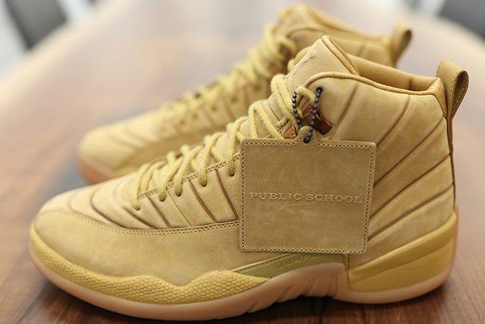 Psny X Air Jordan 12 Wheat2