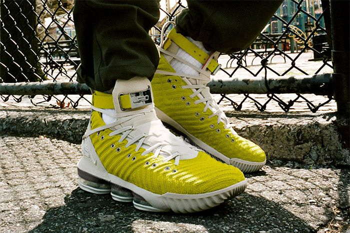 Harlems Fashion Row Nike Lebron 16 Harlem Stage Bright Citron Ci1145 700 Release Date Hero