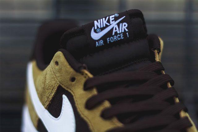 Nike Af1 Golden Tan 3