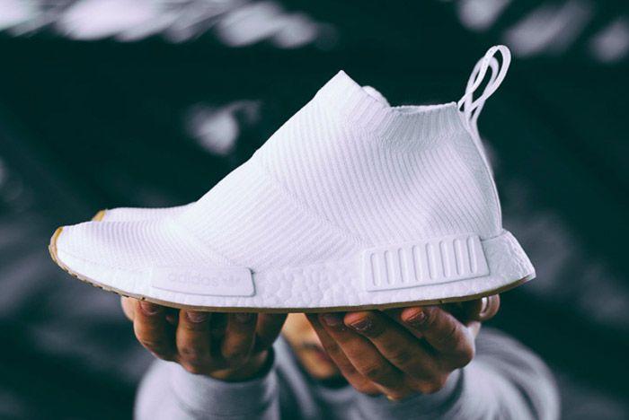 Adidas Nmd City Sock White Gum 2
