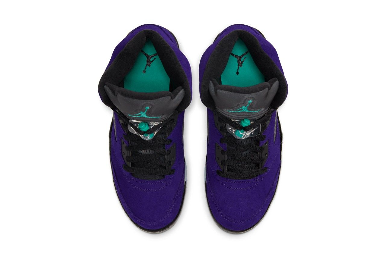 Air Jordan 5 Alternate Grape Top