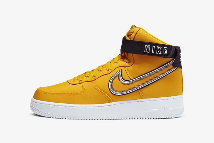 Nike Air Force 1 High University Gold Lateral