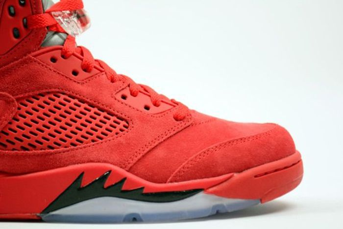 Air Jordan 5 Red Suede6