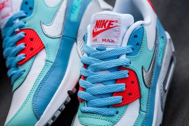 Nike Am90 Lakeside Blue Bumper 2