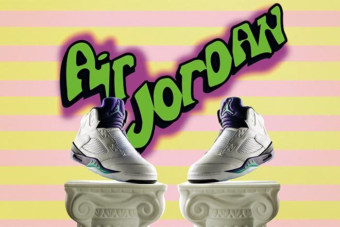 Will Smith Air Jordan 5 4