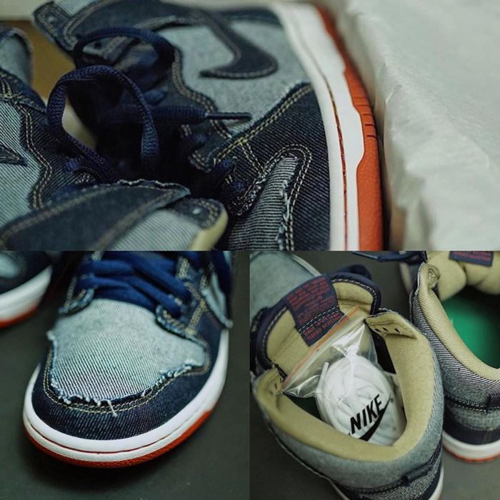 Nike Sb Dunk High Denim