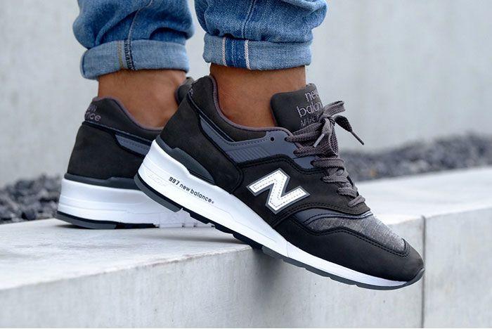 New Balance 997 Charcoal 4