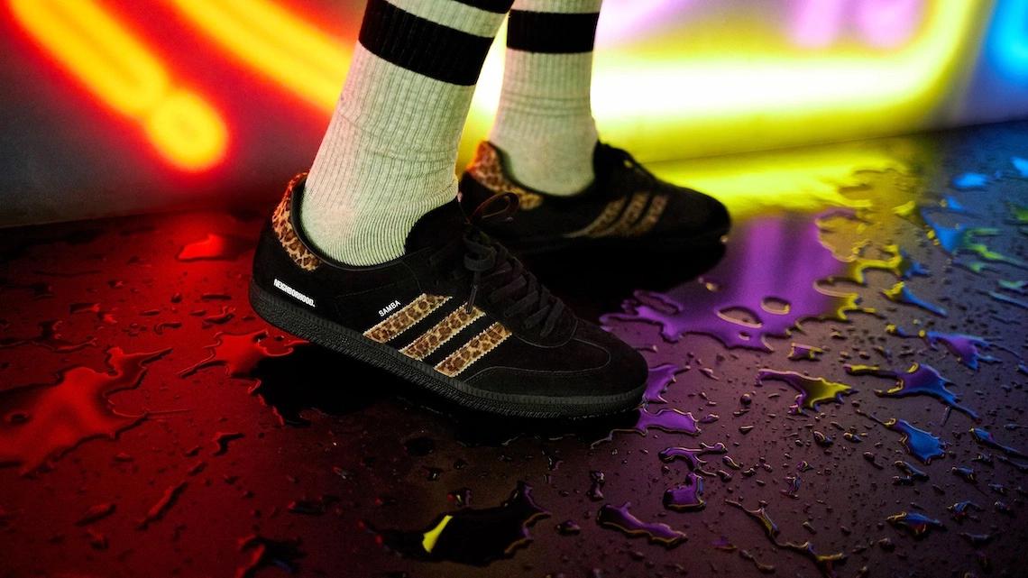NEIGHBORHOOD x END. x adidas Samba