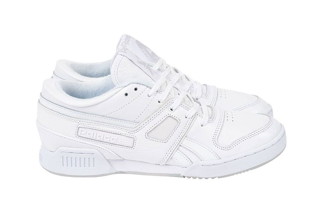 Palace Reebok Classics Workout Low Official Look White Lateral Side Shot