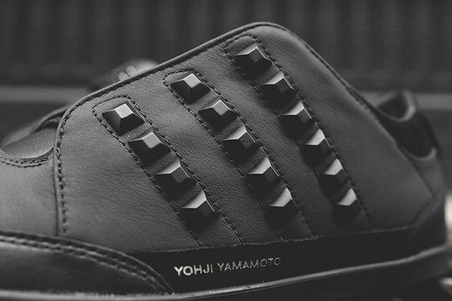 Adidas Y 3 Honja Triple Black Stud Pack 7
