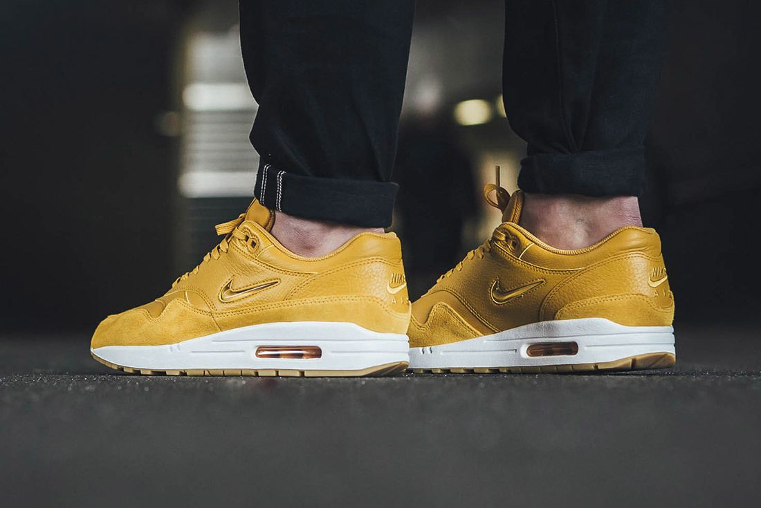 Nike Air Max 1 Jewel Mustard Yellow 4