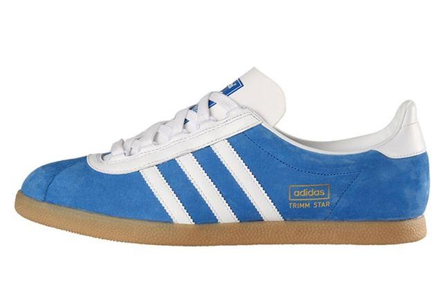 Adidas Trimm Star Blue Profile 1