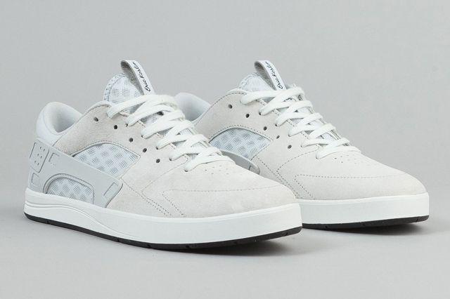 Nike Sb Eric Koston Huarache Shoes Summit White Pure Platinum Black 3
