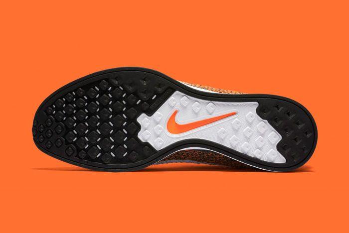 Nike Flyknit Racer Orange 7