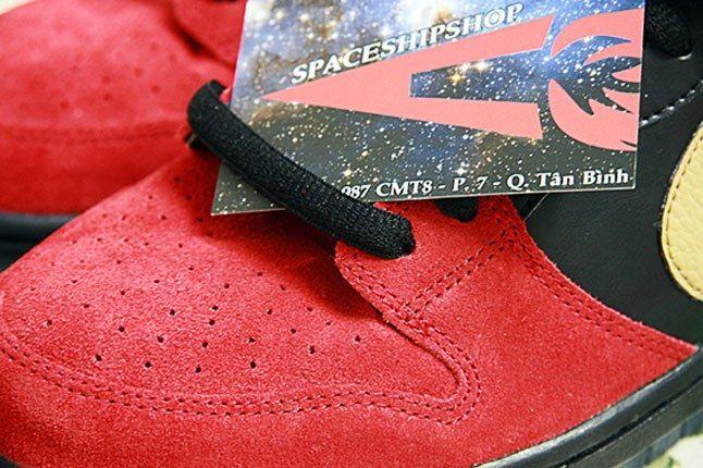 Nike Sb Dunk Low Bhm Toebox 1