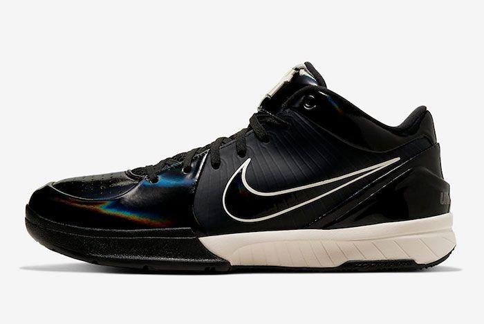 Nike Kobe 4 Protro Black Mamba Toe Left 2