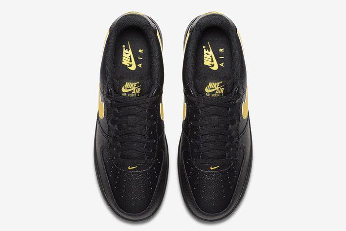 Nike Air Force 1 07 Lv8 Black Amarillo 3