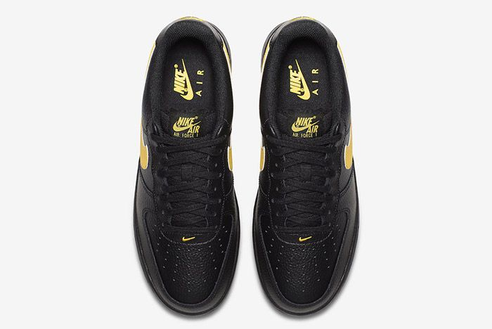 Nike Air Force 1 07 Lv8 Black Amarillo 3
