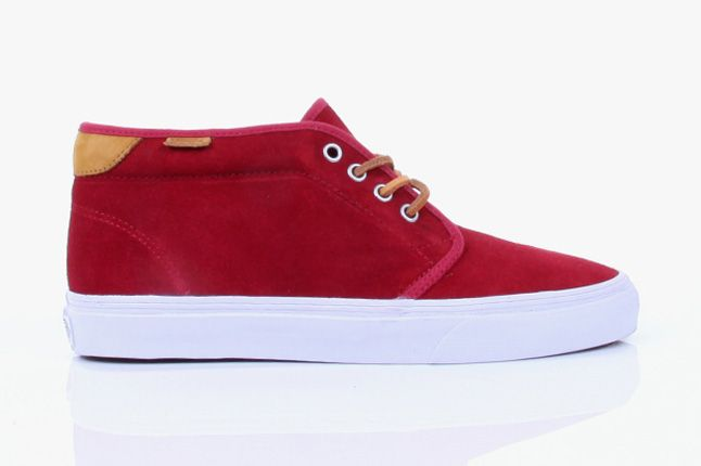 Vans 2012 Holiday Color Pop Pack Red Chukka 1