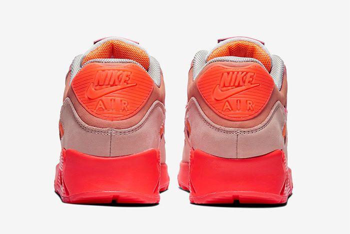 Nike Air Max 90 Prm Wmns Pink Heel