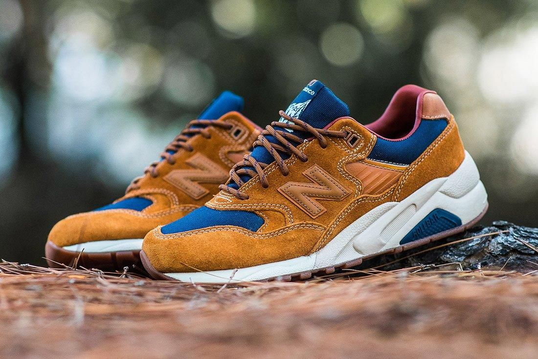 New Balance 580 Brown Leather 3
