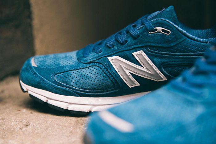 New Balance 990 V4 North Sea Blue 4
