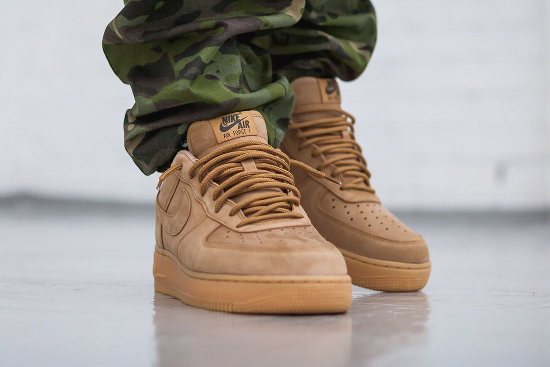 Nike Air Force 1 07 Low Flax Wheat 2